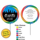 Pick Your Skyline Bridal Party Lollipop