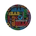 Grad Party Paper Dessert Plates (8)