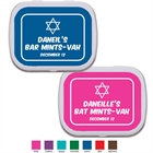 Simple Star of David Mint Tin
