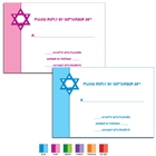 Star of David Theme Response Cards