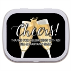Champagne Toast Theme Mint Tin
