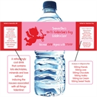 Cupid Anti-Valentine's Day Water Bottle Label