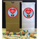 Heart Hot Air Balloon Party Favor Bag
