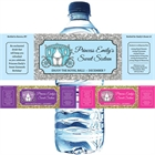 Fairy Tale Princess Theme Water Bottle Label