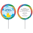 Baby Ducks Theme Custom Lollipop