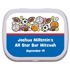 Sports Balls Party Mint Tin