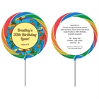 Hawaiian Shirt Theme Lollipop
