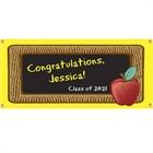 Graduation Party Blackboard Theme Banner