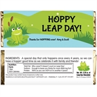 Leap Day Party Theme Candy Bar Wrapper