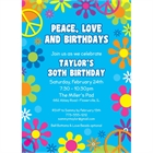 Hippie Retro Invitation