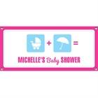 Baby Shower Icons Banner