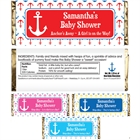 Anchor Theme Candy Bar Wrapper