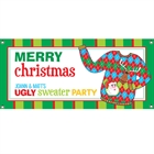 Ugly Sweater Party Banner