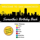 Pick Your Skyline Birthday Banner