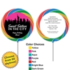 Pick Your Skyline Sweet 16 Custom Lollipop