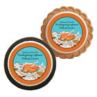Thanksgiving Potluck Theme Custom Cookie