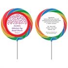 Heart Confetti Theme Lollipop