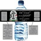 Halloween Tombstone Wedding Water Bottle Label
