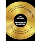 Motown Record Theme Invitation