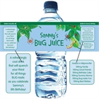 Wriggly Bugs Theme Bottle Label