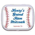 Baseball Party Bar Mitzvah Mint Tin