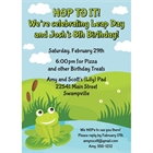Leap Day Party Invitation