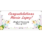 Graduation Champagne Theme Banner