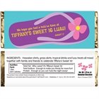 Flip Flop Theme Candy Bar Wrapper
