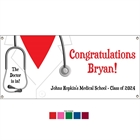 Graduation Doctor's Coat Theme Banner