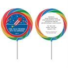 Fireworks Theme Lollipop