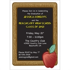 Graduation Party Blackboard Invitation