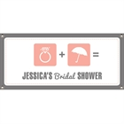 Bridal Shower Icons Banner
