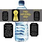 Murder Mystery Party Water Bottle Label