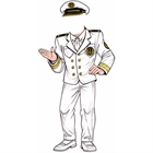 Cruise Captain Cutout