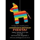 Pinata Theme Fiesta Invitation