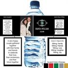 Vintage Anniversary Water Bottle Label