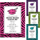 Graduation Jungle Theme Invitation