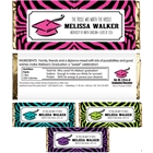 Graduation Jungle Theme Candy Bar Wrapper