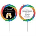 Champagne Toast Theme Lollipop