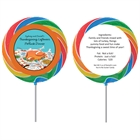 Thanksgiving Potluck Theme Custom Lollipop