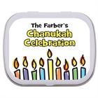 Chanukah Menorah Theme Mint Tin