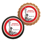 Hollywood Film Reel Theme Cookie