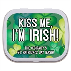 St. Patrick's Day Green Shamrocks Mint Tin