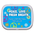 Hippie Retro Mint and Candy Tin