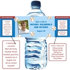 Baseball All Star Water Bottle Label