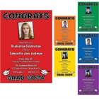 Graduation Color Choice Invitation