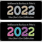 2020 New Year's Celebration Theme Banner