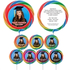 Custom Graduation Photo Lollipop