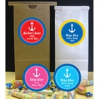 Anchor Theme Custom Party Favor Bag