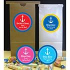 Anchor Theme Custom Party Favor Bag